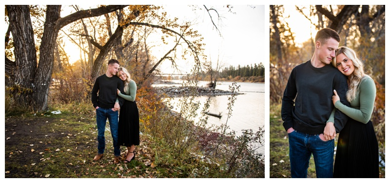 Calgary Bowness Park Engagement Photography