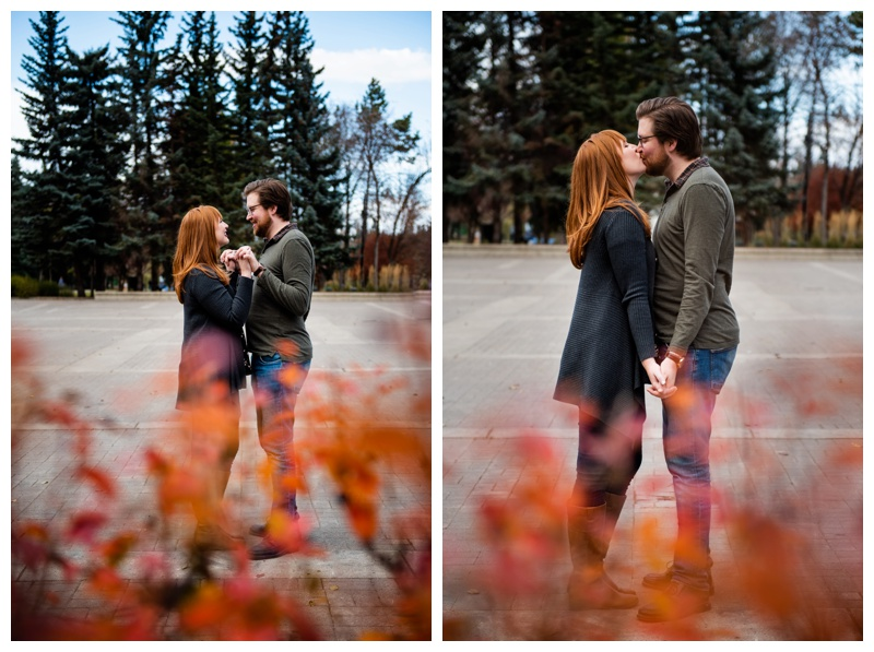 Calgary Engagement Photography Session