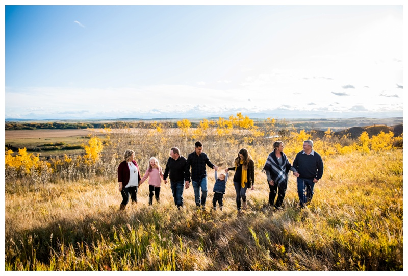 Calgary Extended Family Photography