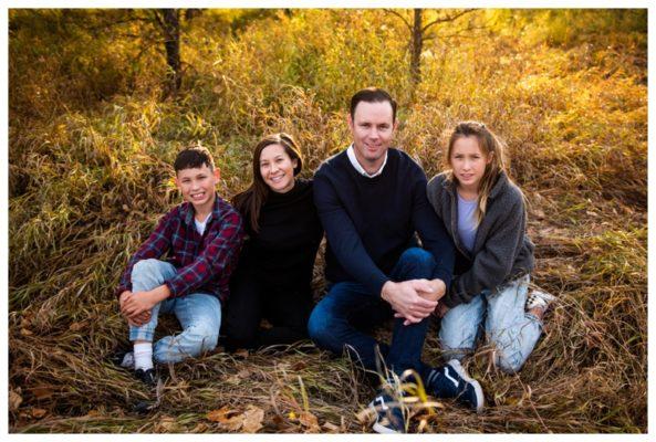 Fall Fish Creek Park Family Session   The Rowden's   Calgary Family Photographer