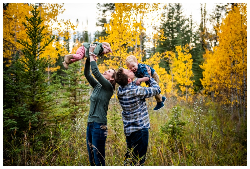 Calgary Griffith Woods Fall Family Photographers