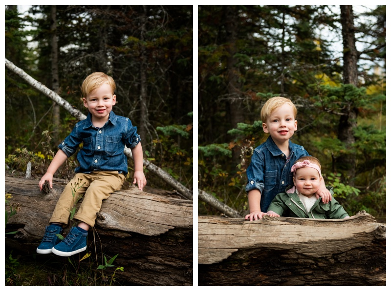 Calgary Griffith Woods Fall Family Photography