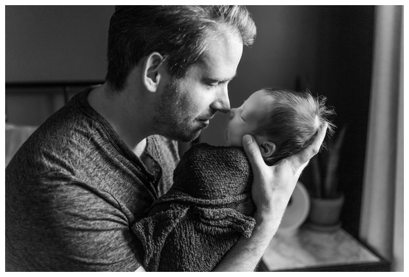 Calgary In Home Newborn Photographers
