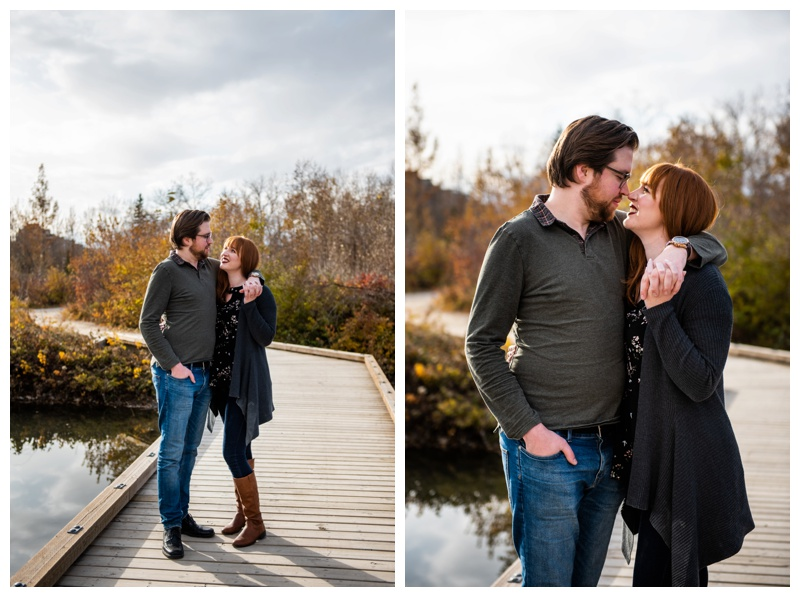 Calgary Prince's Island Park Engagement Photography Session