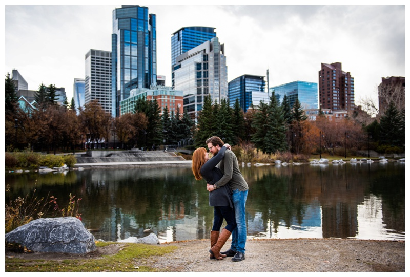 Calgary Prince's Island Park Engagement Photography