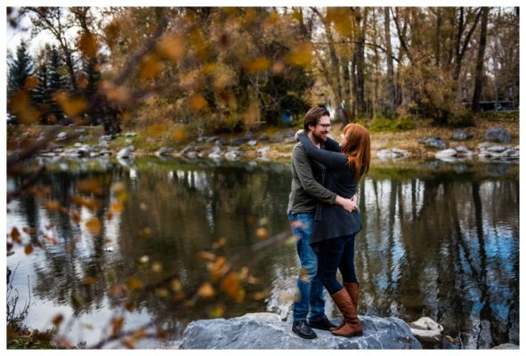 Prince's Island Park Engagement Session   Darnell & Lee-Ann   Calgary Engagement Photographer