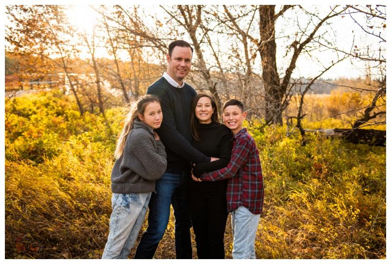 Fall Fish Creek Park Family Photographer