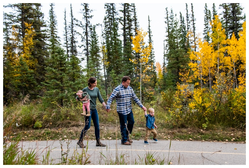 Griffith Woods Fall Family Photographer Calgary