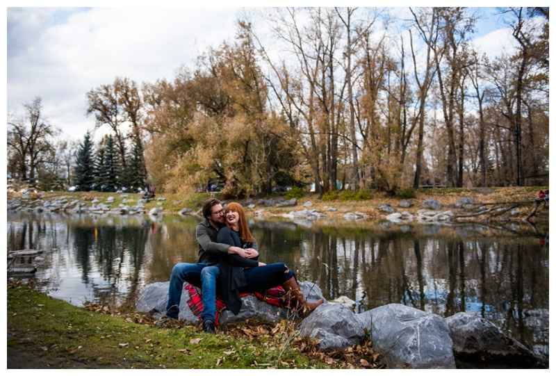 Prince's Island Park Engagement Photography