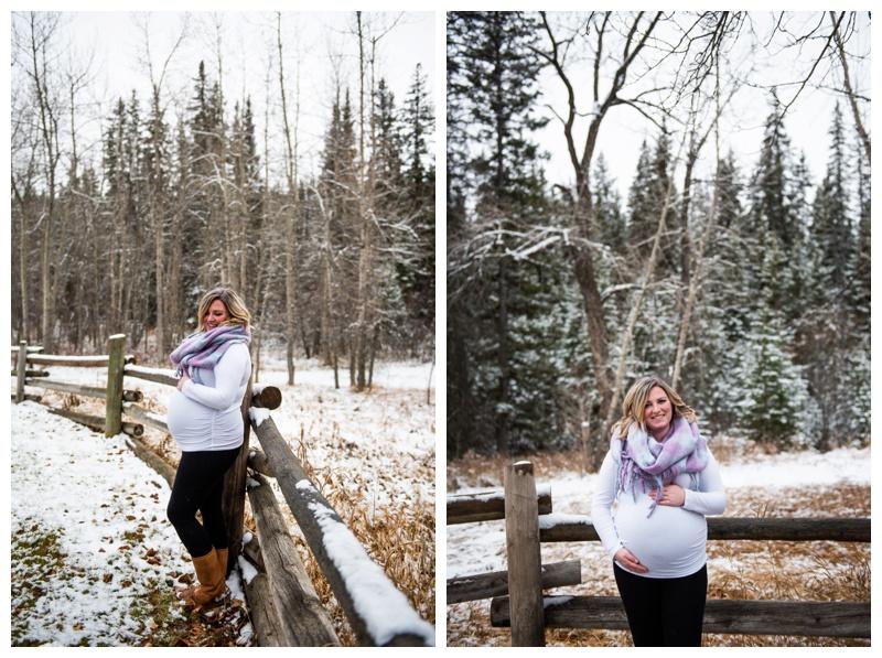 Calgary Winter Maternity Photography