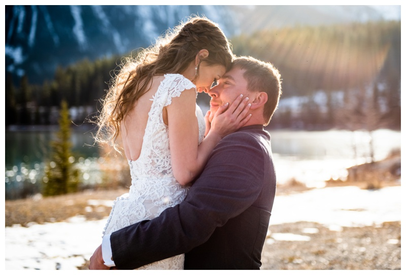 Canmore Alberta Winter Wedding