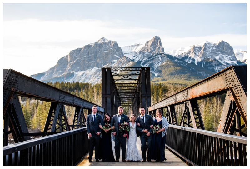 Canmore Cornerstone Wedding Photography