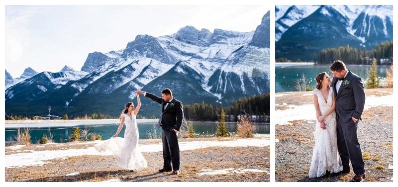 Canmore Winter Wedding Photogaphers