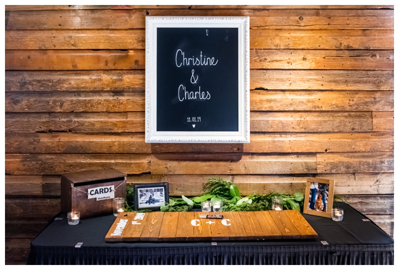 Cornerstone Wedding Ceremony Details Canmore