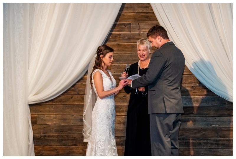 Cornerstone Wedding Ceremony Photographer Canmore Alberta