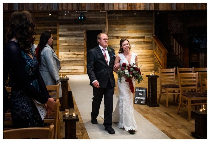 Cornerstone Wedding Ceremony Photography Canmore