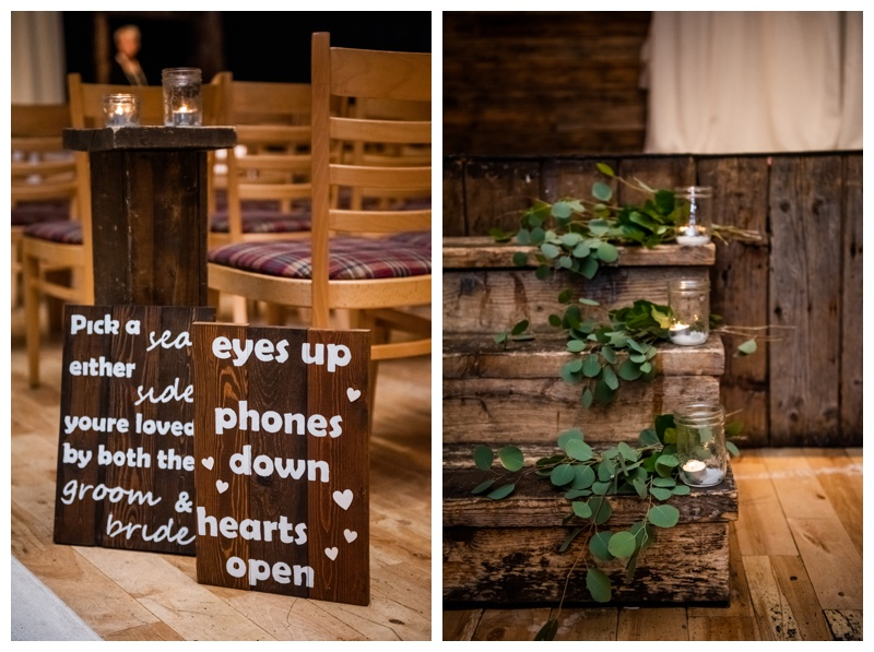 Cornerstone Wedding Ceremony Photos Canmore
