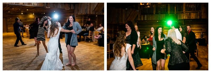 Cornerstone Wedding Reception Canmore Alberta Photos