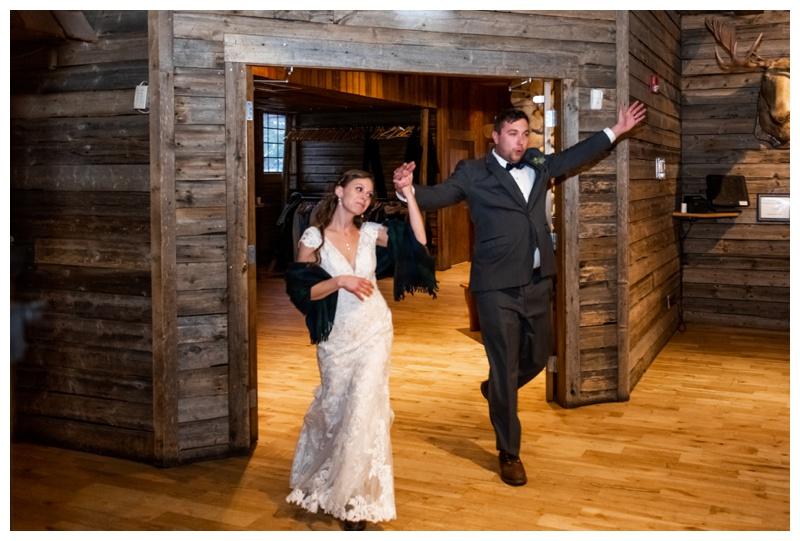 Cornerstone Wedding Reception Canmore Photos