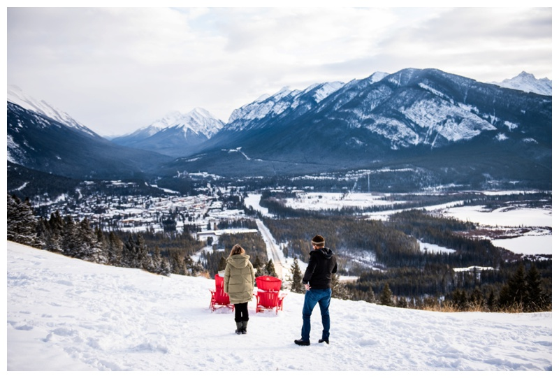 Banff Lookout Winter Proposal