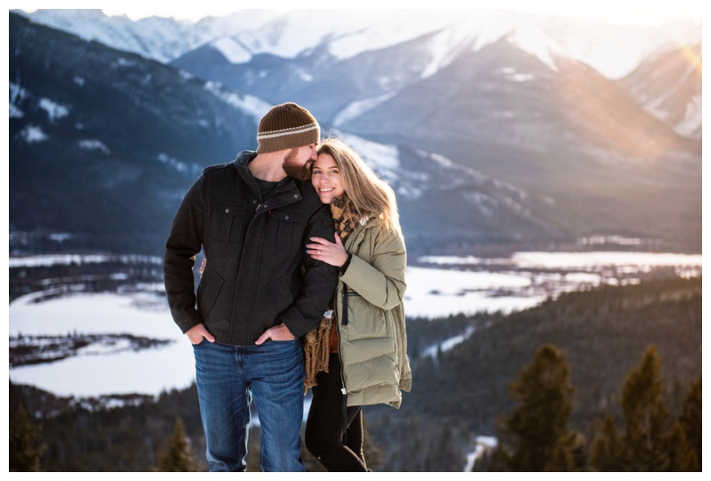 Banff Wedding Proposal Photos