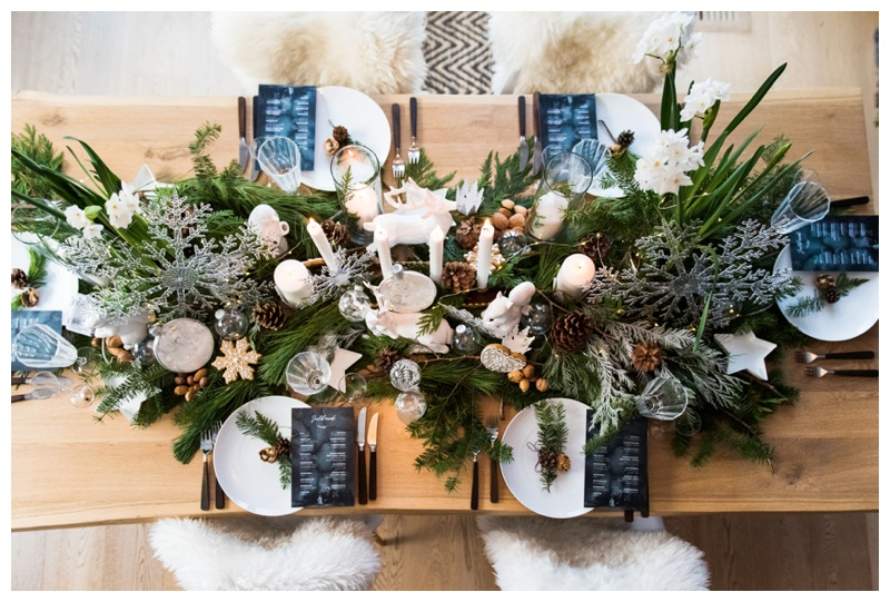 Calgary Nordic Inspired Intimate Winter Wedding Day Styled Shoot
