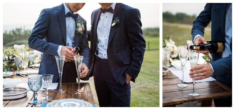 Calgary Outdoor Wedding Photos