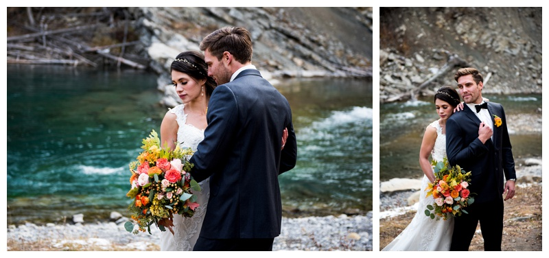 Calgary Wedding Photography - Ghost River Crossing