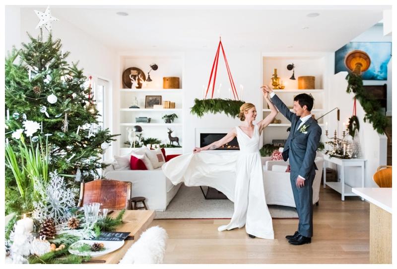 Christmas Holiday Wedding Photography Calgary