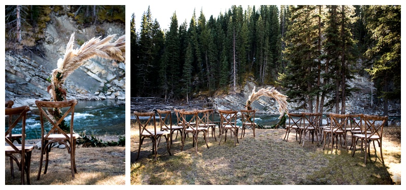 Ghost River Crossing Wedding Ceremony