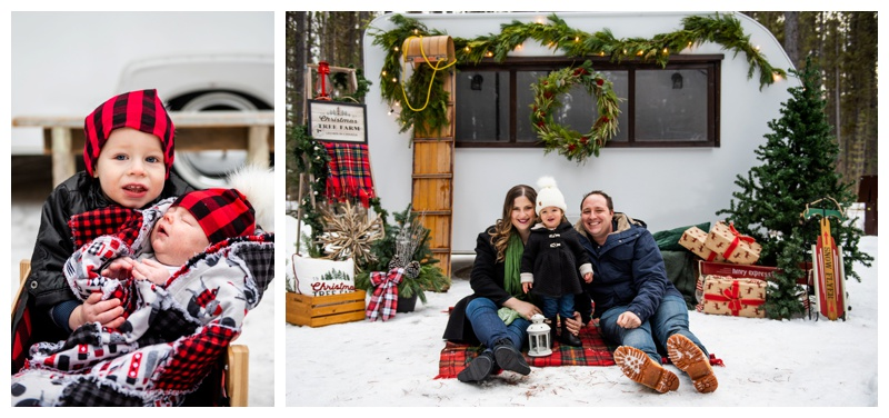 Holiday Christmas Card Photos Calgary