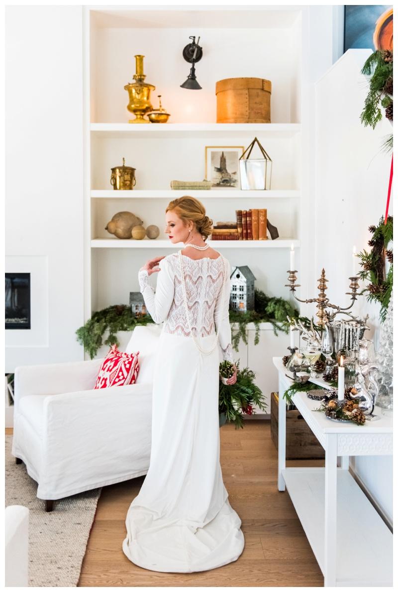 Scandinavian winter wedding Calgary
