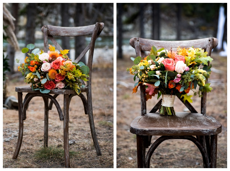 The Ghost River Crossing Wedding Reception - Creative Edge Flowers