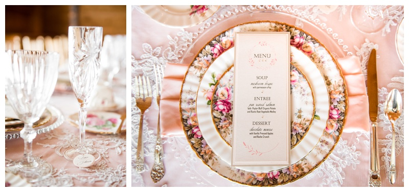 The Ghost River Crossing Wedding Reception Details