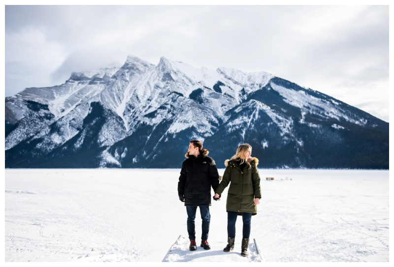 Banff Alberta Engagement Photos