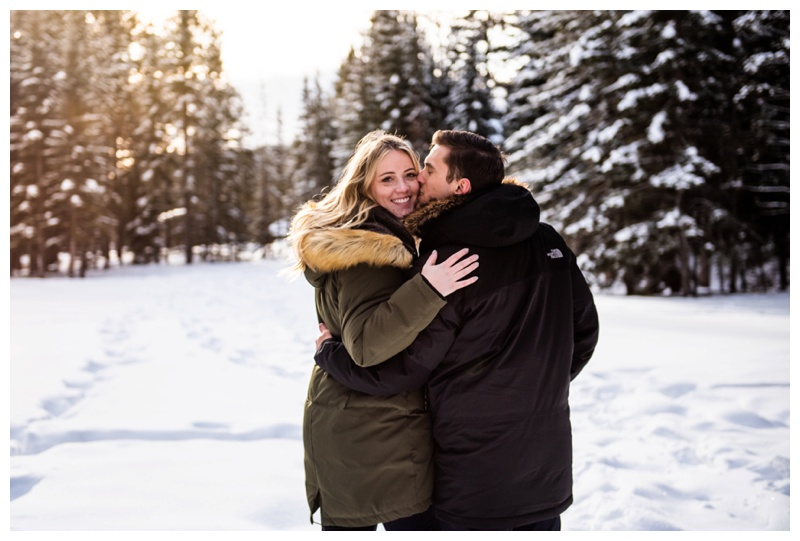 Banff Alberta Proposal Photography