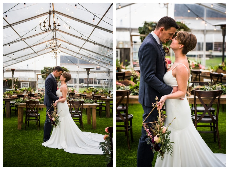 Calgary Eco Friendly Wedding Photos