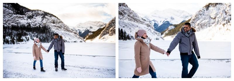 Kananaskis Winter Couple Photography