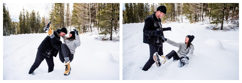 Proposal Photos Banff Alberta