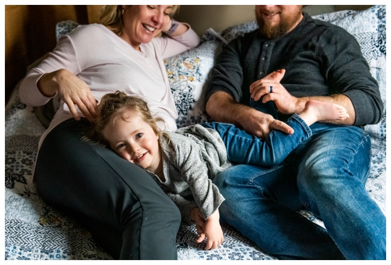 At Home Maternity Photographer Calgary