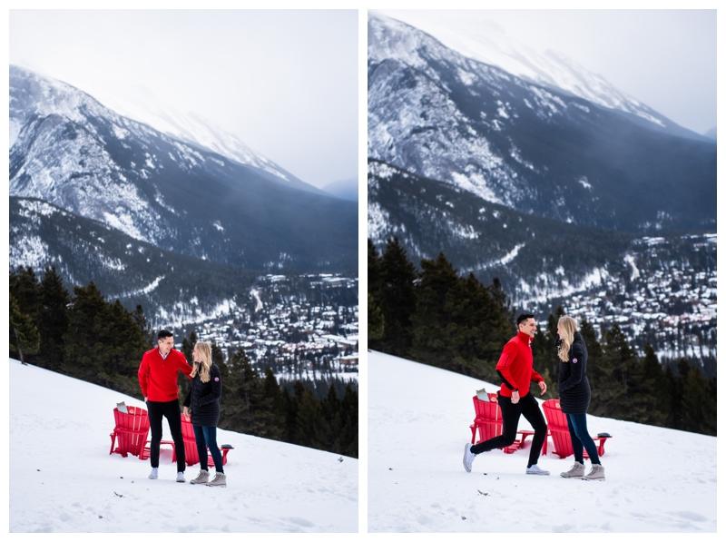 Banff Norquay Wedding Proposal Photographers