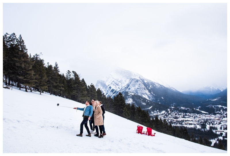 Banff Norquay Wedding Proposal Photography