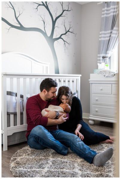 Calgary At Home Newborn Photographer