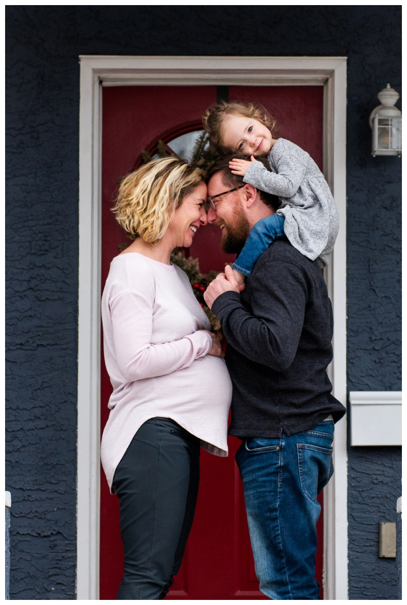 Calgary In Home Maternity Photographer