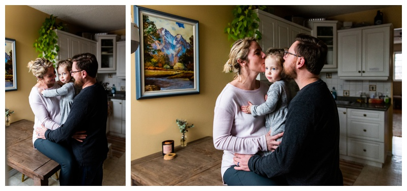 Calgary In Home Maternity Photographers