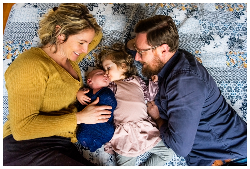 Calgary Inglewood Family Newborn Photographer