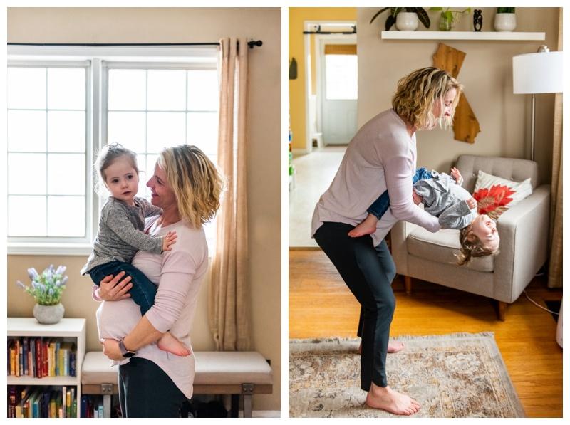 Calgary at Home Family Maternity Photographer