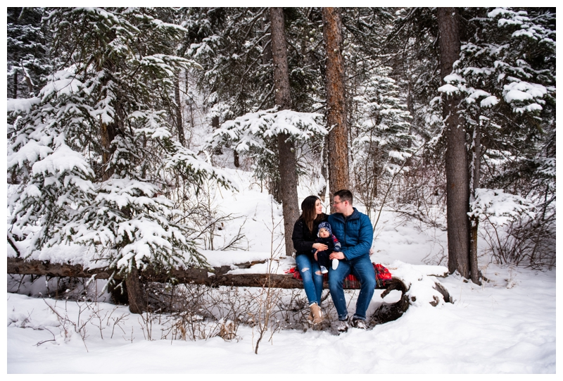 Family Photos Session - Kananaskis Mount Loretta Ponds
