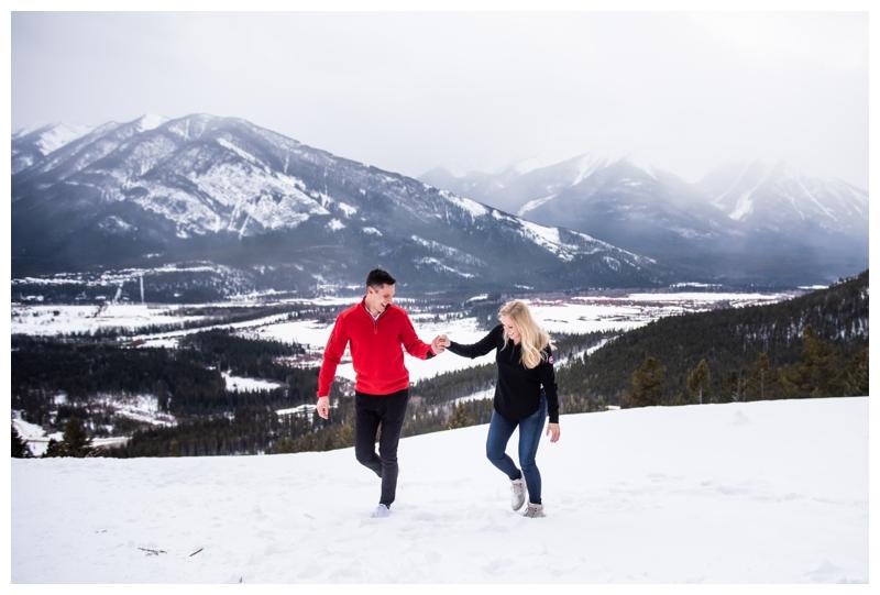 Proposal Photographer Banff Alberta