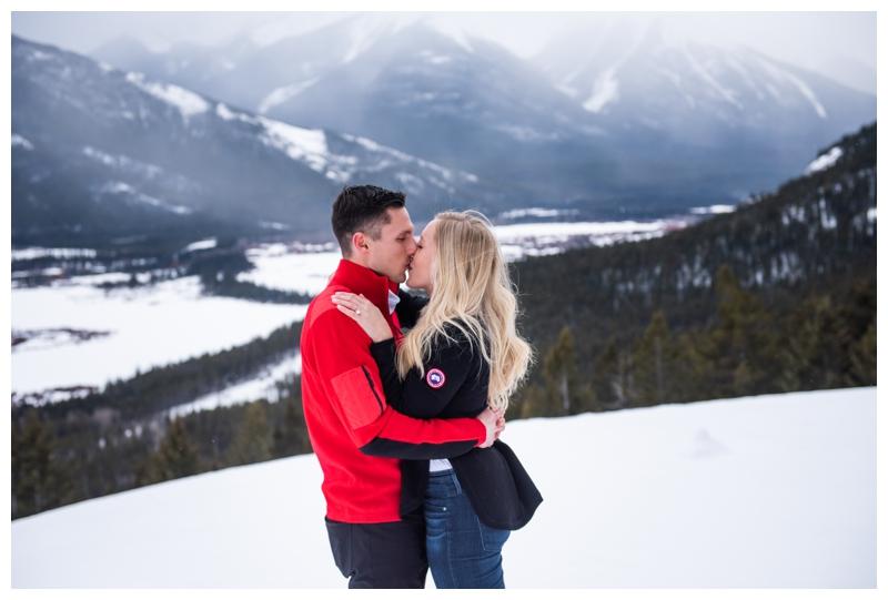 Proposal Photographers Banff Alberta